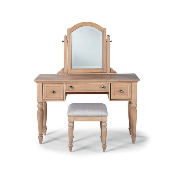 Outstanding Home Styles Cambridge 2 Piece White Washed Maple Vanity Set Home Interior And Landscaping Ologienasavecom