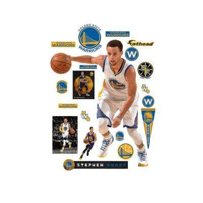 71 in. H x 55 in. W Stephen Curry No. 30 Wall Mural