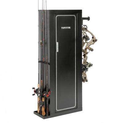 Sportsman's Butler by Tuff Stor Metal Security Cabinet for Guns, Archery or Fishing