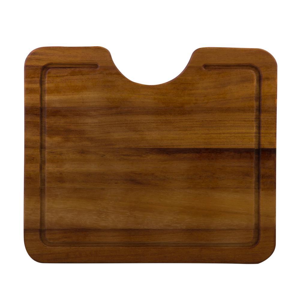 16.5 in. Wood Cutting Board
