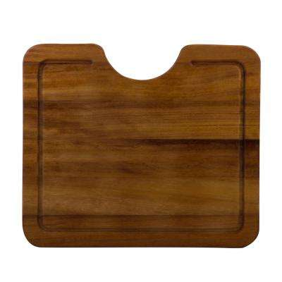 16.5 in. Wood Cutting Board