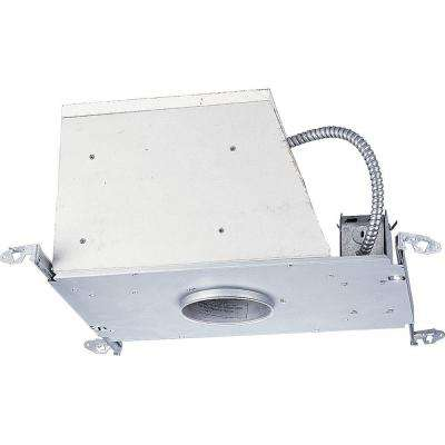 4 in. Metallic Firebox 12-Volt New Construction Recessed Housing, Air Tight, IC