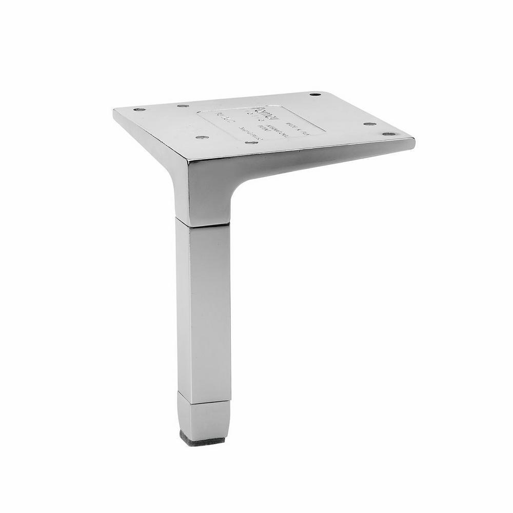 Richelieu Hardware 4-23/32 in  Aluminum Metal Leg