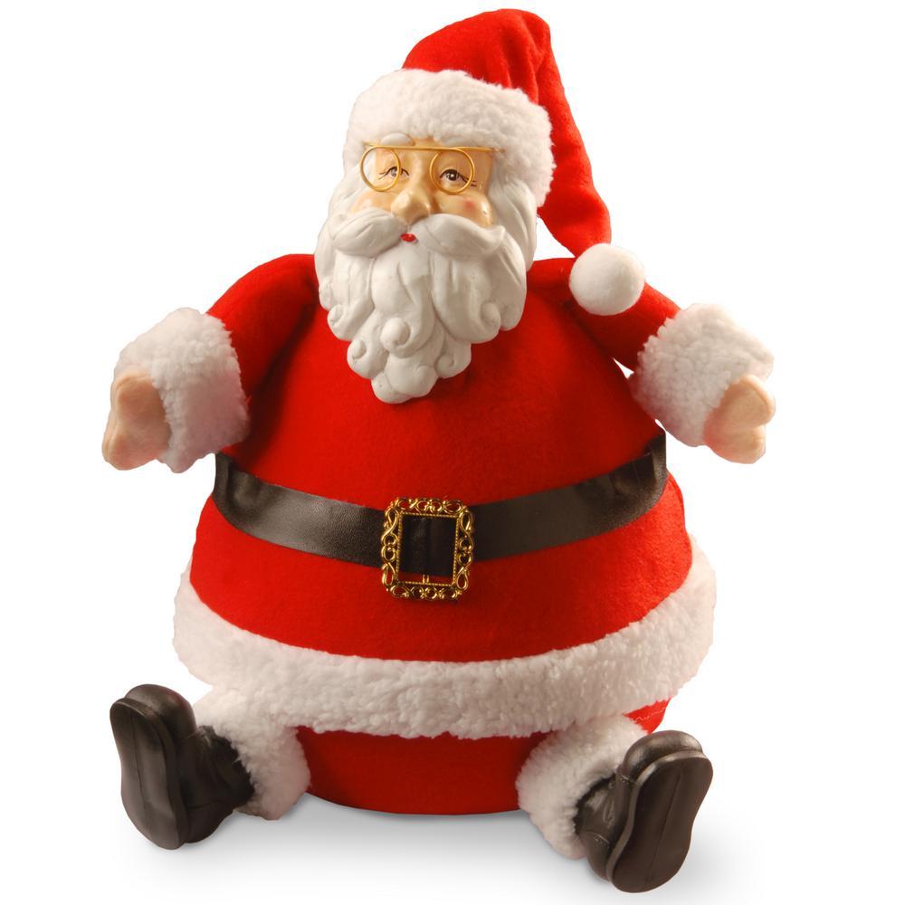 13 in. Sitting Santa