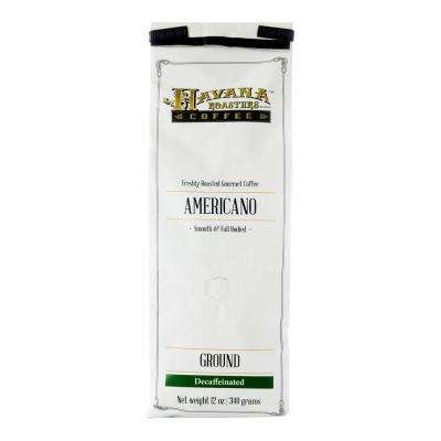 Americano DECAF 12 oz. Coffee Bags Coffee Grounds (3-Bags)