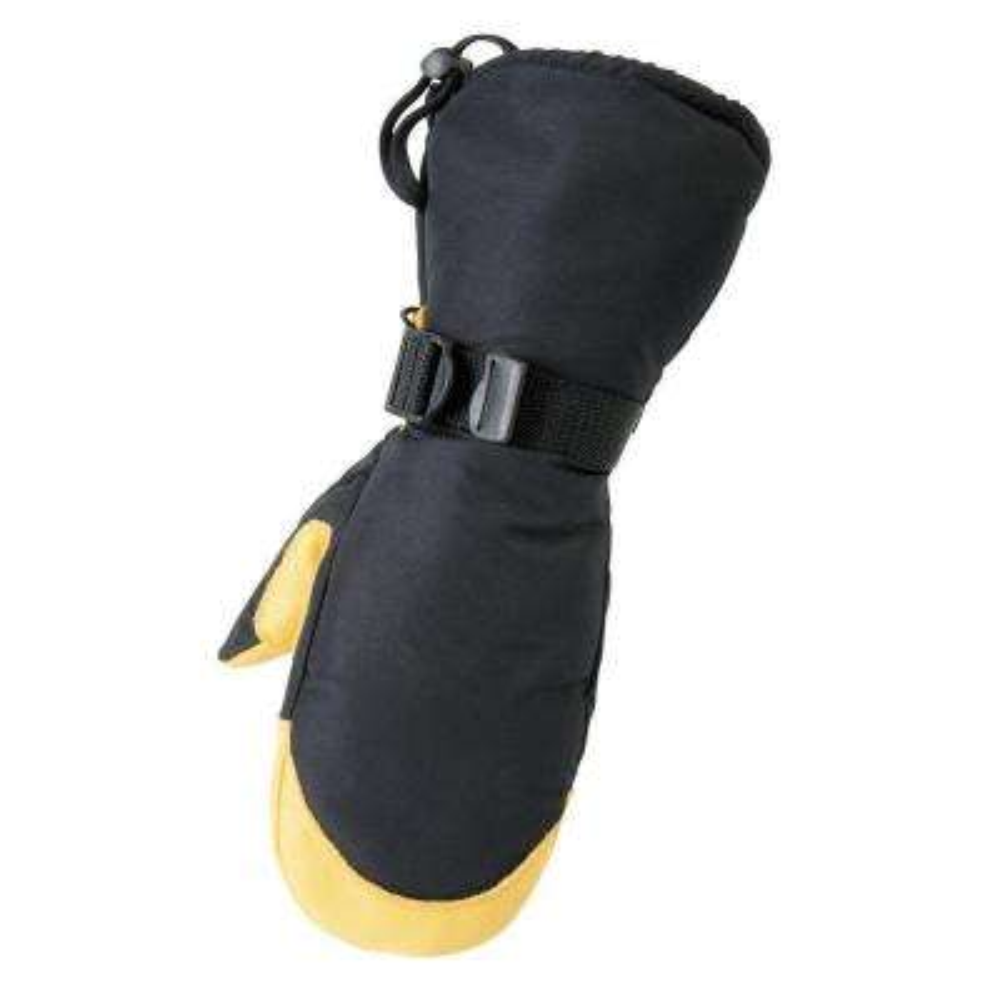 Deerskin Gauntlet Large Tan Glove Mitt
