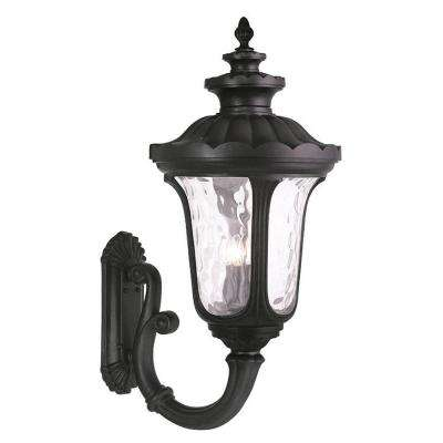 Oxford 4-Light Black Outdoor Wall Lantern