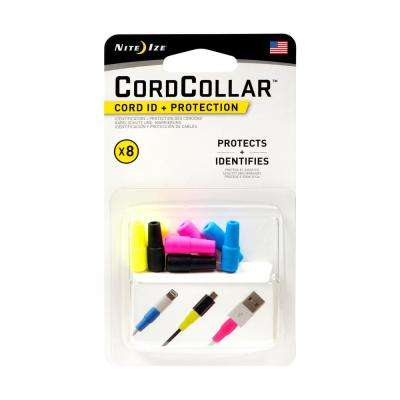 Cord Collar - Cord ID and Protection Assorted (8-Pack)