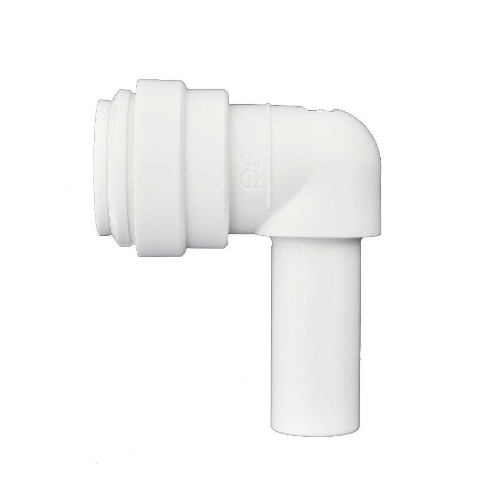 1/2 in. x 1/2 in. Push-to-Connect Plug In Elbow (10-Pack)