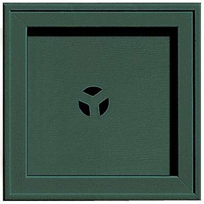 7.75 in. x 7.75 in. #028 Forest Green Recessed Square Universal Mounting Block