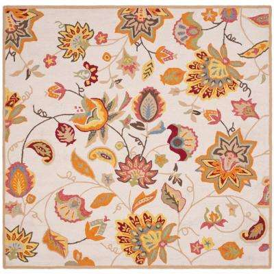 Square - Ivory - Outdoor Rugs - Rugs - The Home Depot
