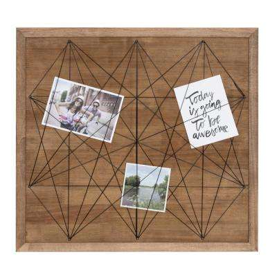 Taffy 20 in. x 21.5 in. Black Collage Picture Frame