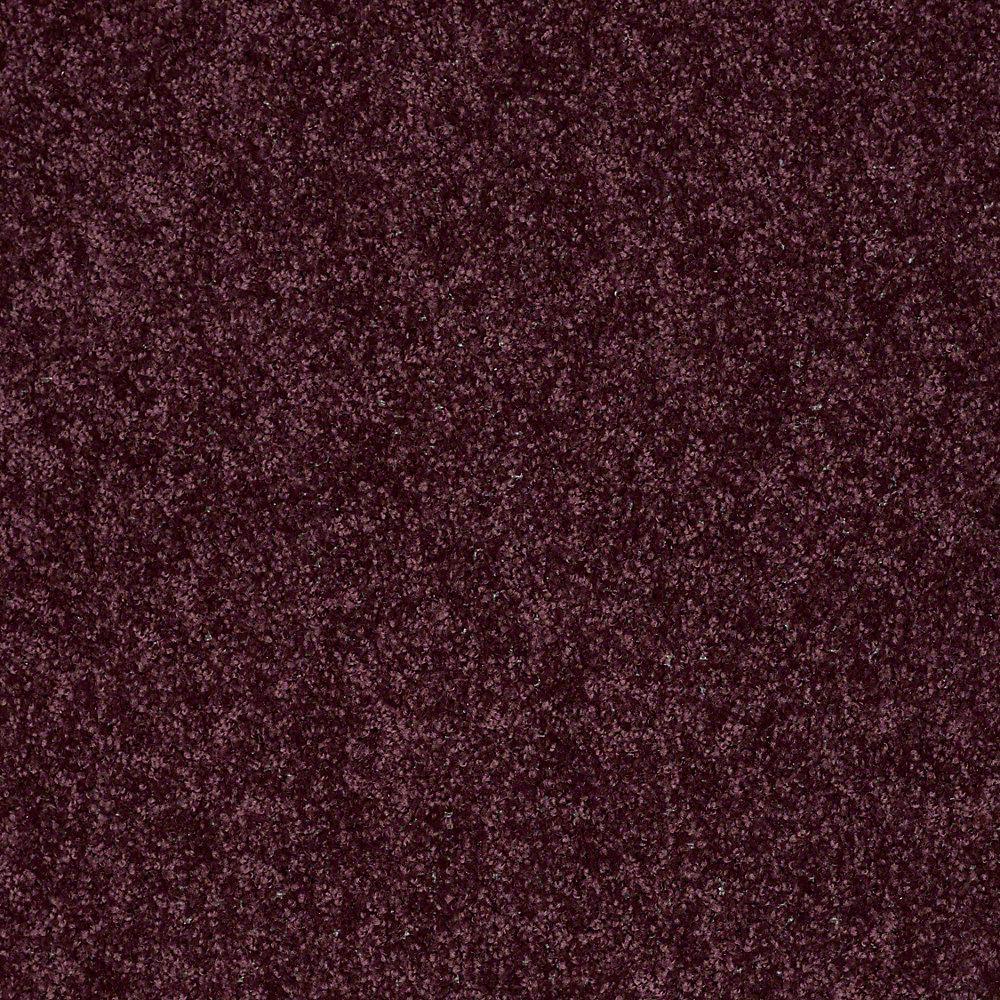 Carpet Sample - Palmdale I 12 - In Color Grape Koolaid 8 in. x 8 in.