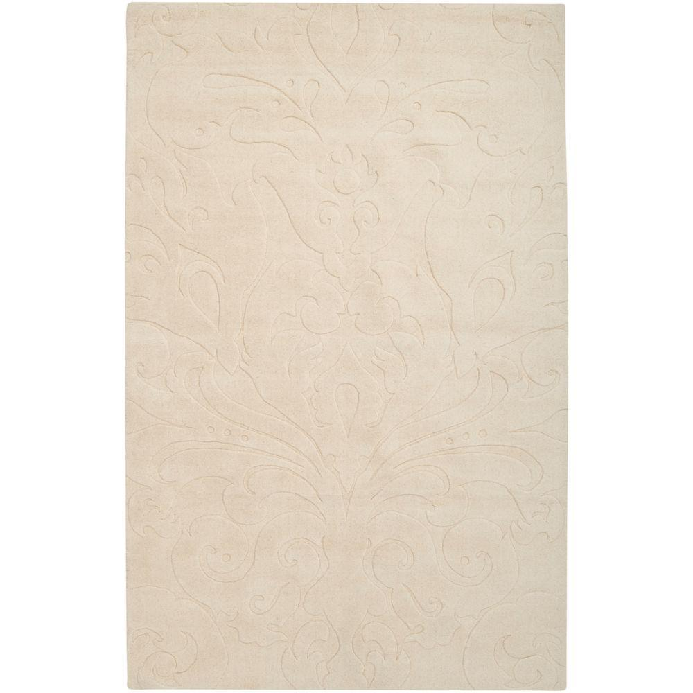 Surya Candice Olson Ivory 8 Ft X 11 Area Rug Scu7511 811 The Home Depot