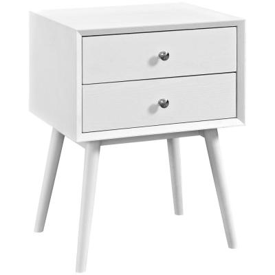 Dispatch White Nightstand in