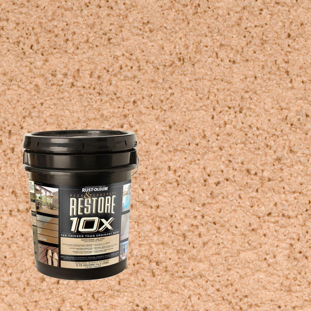 Rust-Oleum Restore 4-gal. Sedona Deck and Concrete 10X Resurfacer