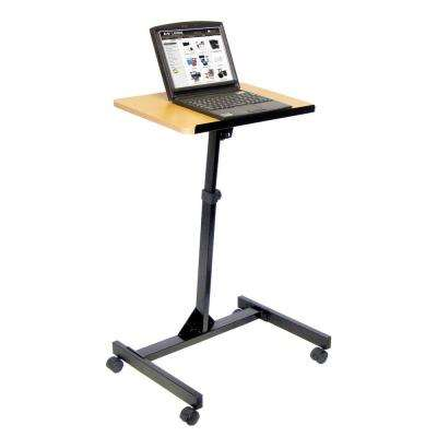 19.75 in. W x 23.25 in. D Adjustable Height Mobile Lectern