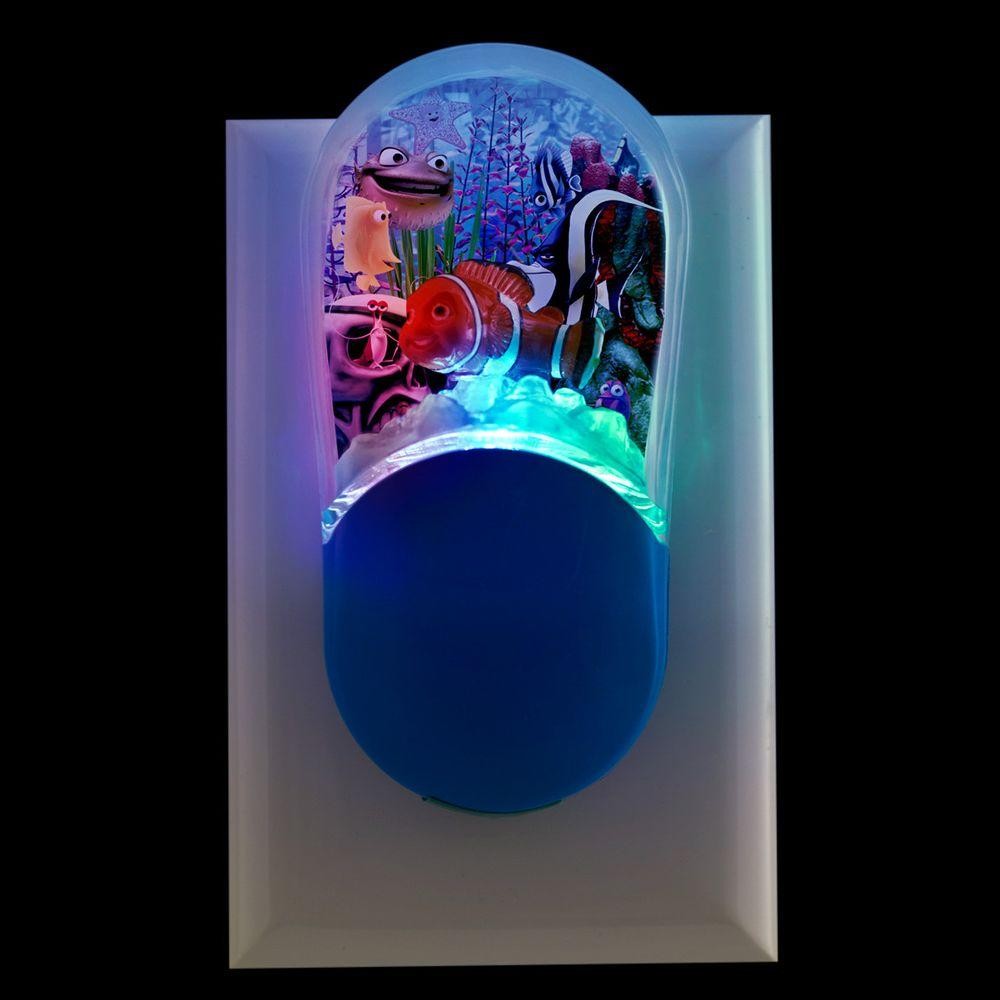 Jasco Disney/Pixar's Finding Nemo Color Changing LED Night Light