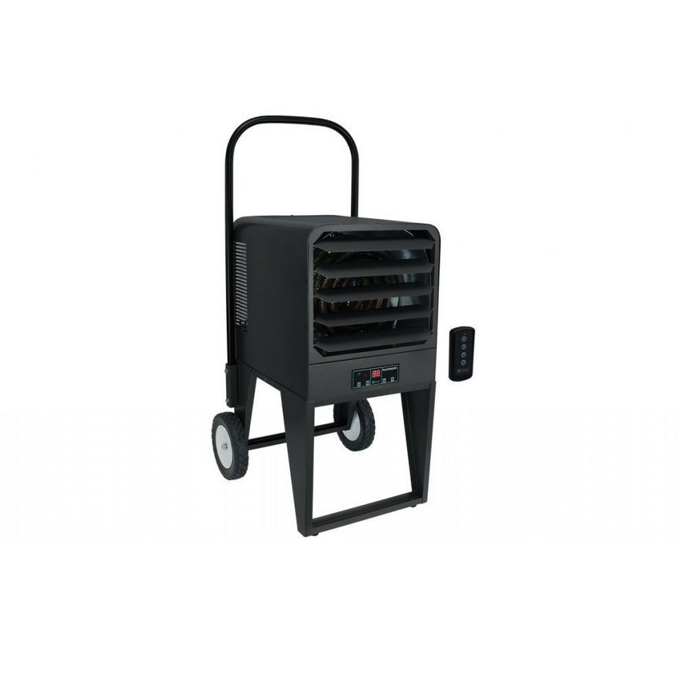 PKB Platinum 240-Volt/208-Volt 10/7.5kW 1-PH Portable Unit Heater with 25 ft. Cord