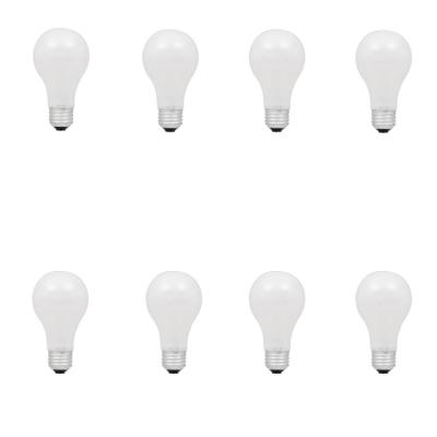 60-Watt Equivalent A19 Dimmable Soft White Halgoen Light Bulb (8 Pack)