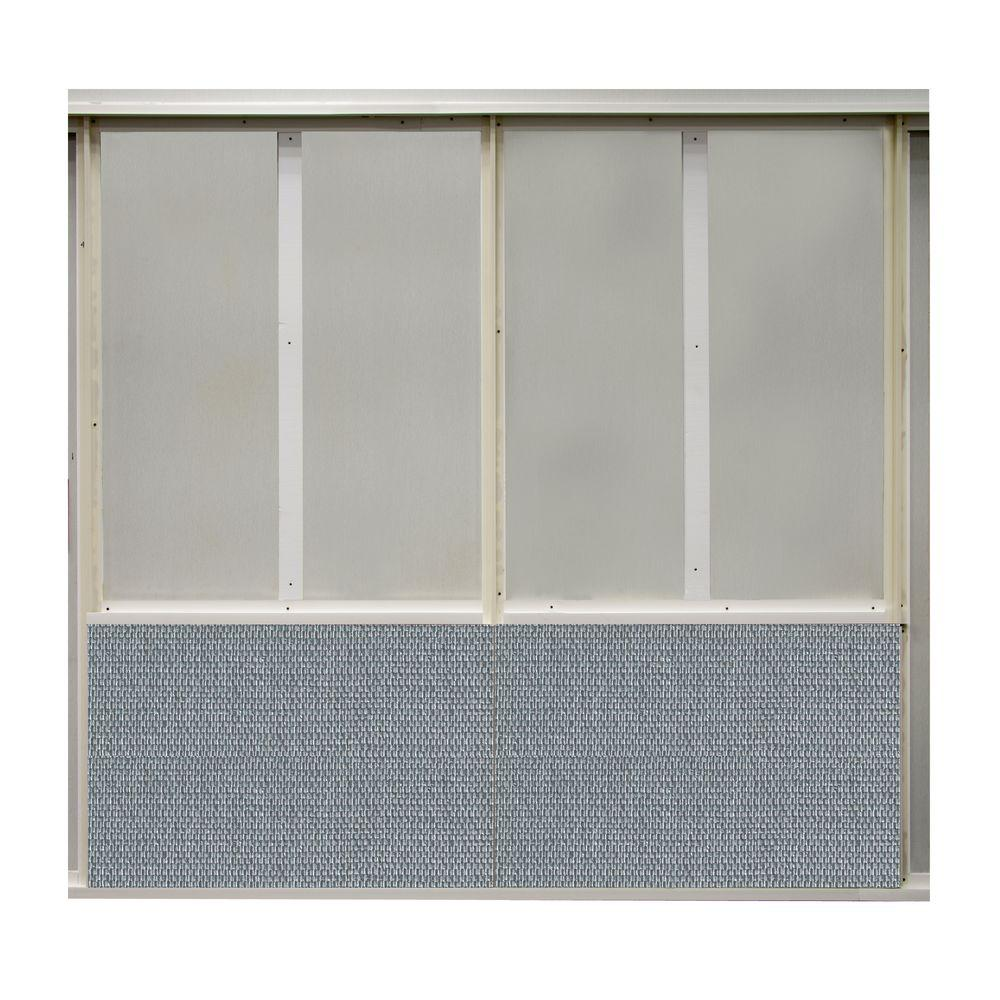 SoftWall Finishing Systems 20 sq. ft. Flashy Fabric Covered Bottom Kit Wall Panel