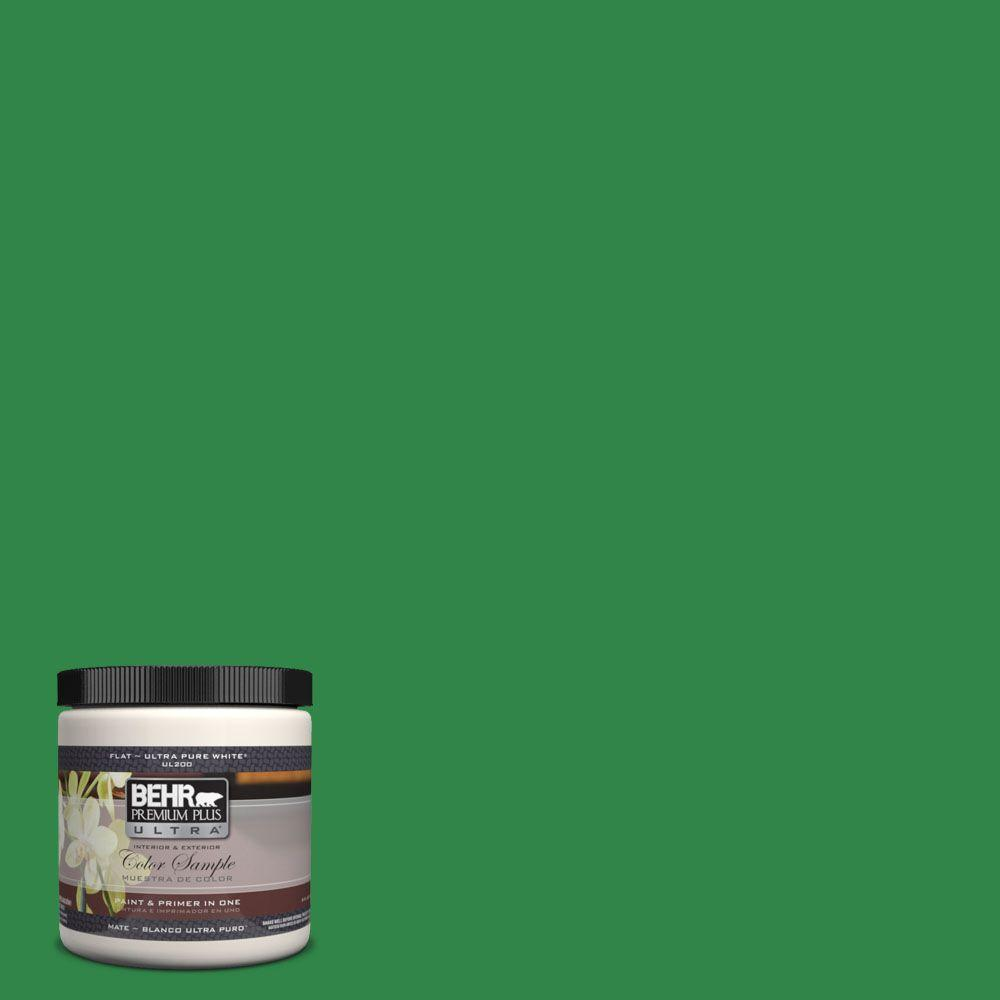450b 7 Green Gr Matte Interior Exterior Paint And Primer In One Sample