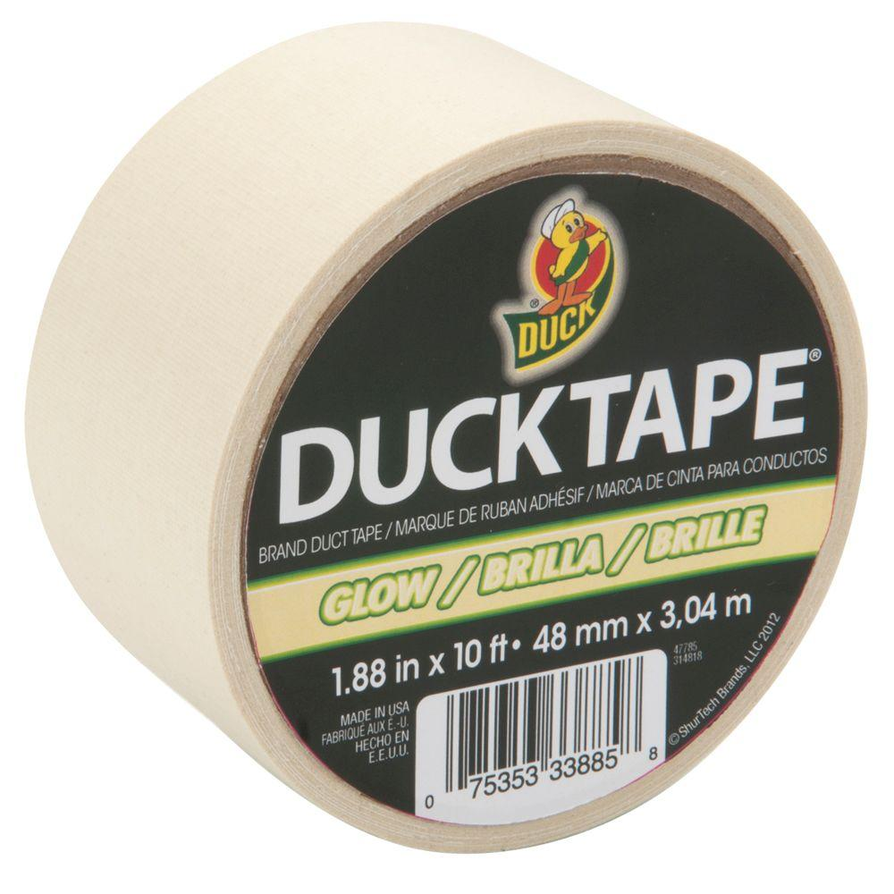 1.88 in. x 3-1/3 yds. Glow Duct Tape Roll