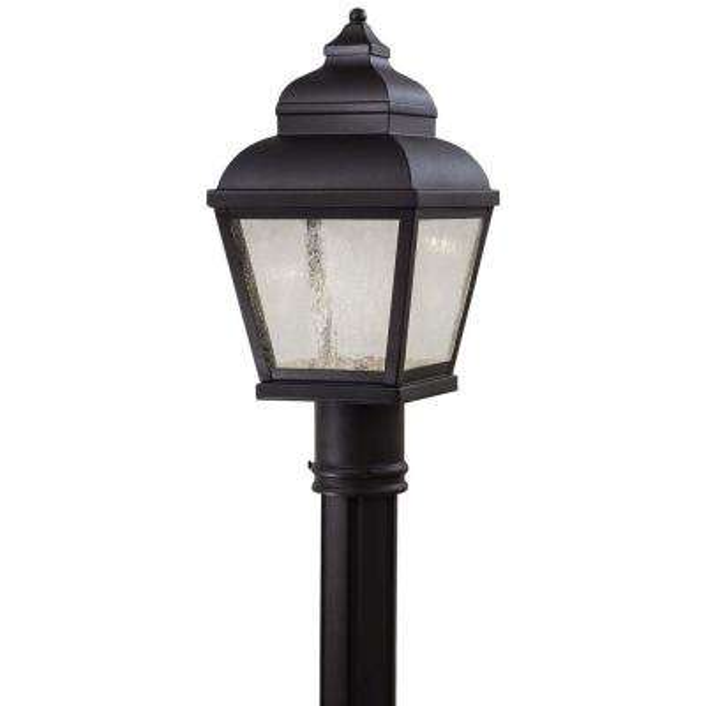 Mossoro LED 1-Light Black Outdoor LED Post Mount