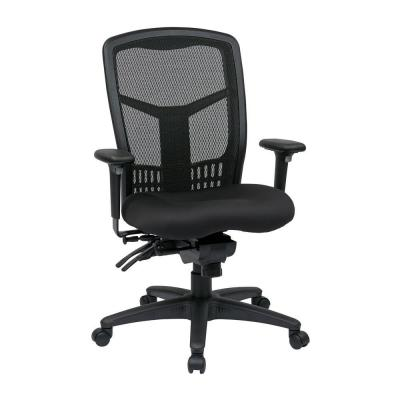 Black ProGrid High Back Manager Office Chair