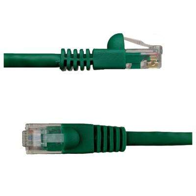 100 ft. Cat6 Snagless Unshielded (UTP) Network Patch Cable, Green