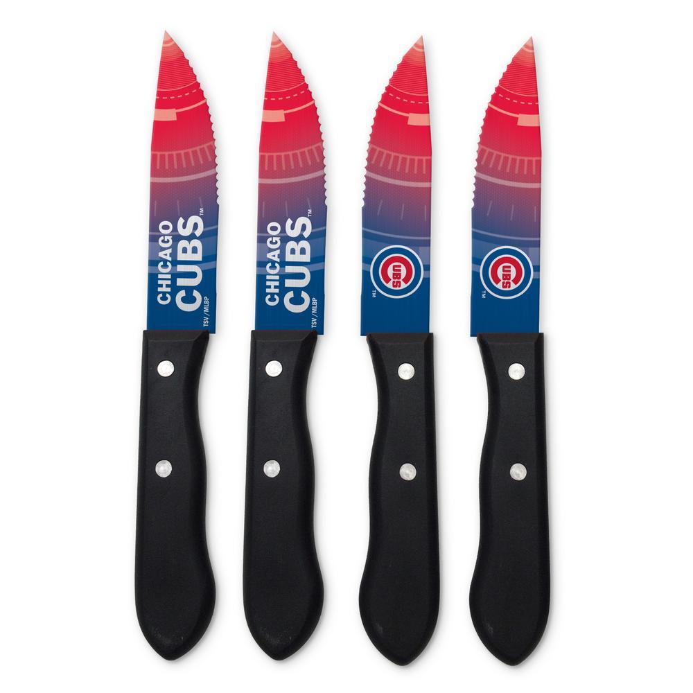 MLB Chicago Cubs Steak Knives (4-Pack)