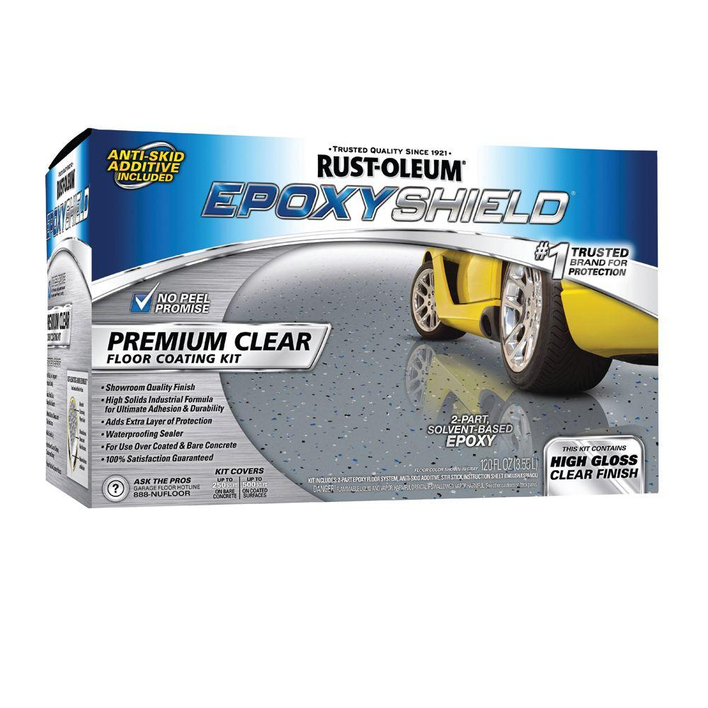 Rust-Oleum Epoxy Shield 1-gal. Premium Clear Coating Kit-DISCONTINUED