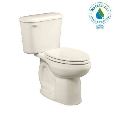 Colony Tall Height 10 in. Rough-In 2-Piece 1.6 GPF Single Flush Elongated Toilet in Linen