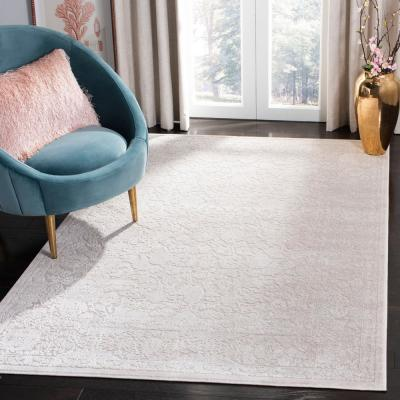 Reflection Cream/Ivory 9 ft. x 12 ft. Area Rug