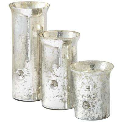Multi-sized Glass Hurricanes (Set of 3)