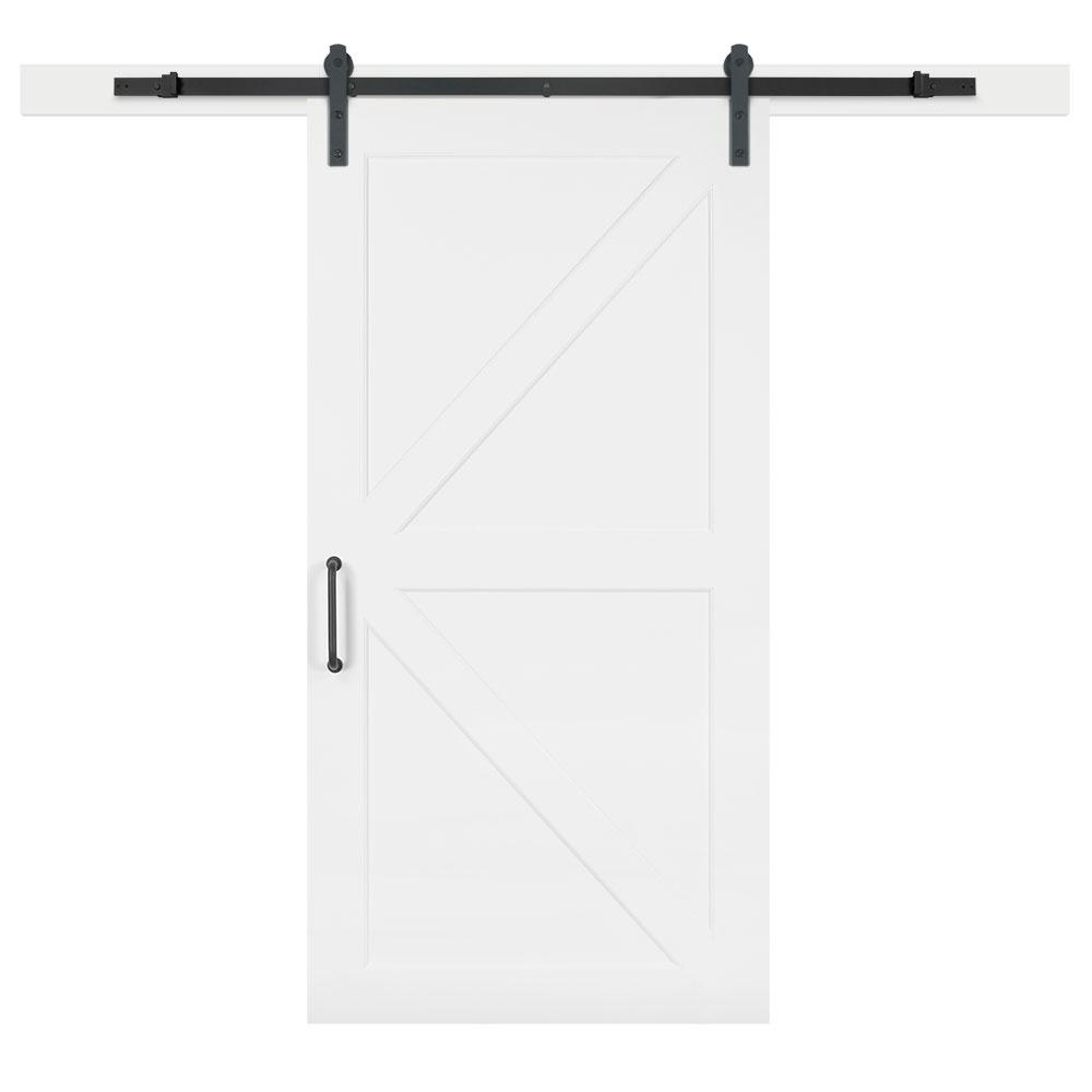 42 In. X 84 In. White Collar Composite K Bar Solid Core