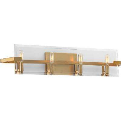 Cahill Collection 4-Light Brushed Bronze Bath Light