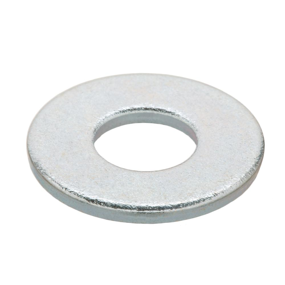 5 pk. 1-1//4 x 3 OD Zinc Plated Finish Low Carbon Steel Large OD Flat Washers