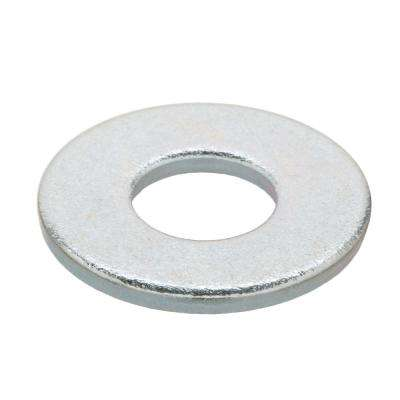#10 Zinc-Plated SAE Flat Washer (100 per Pack)
