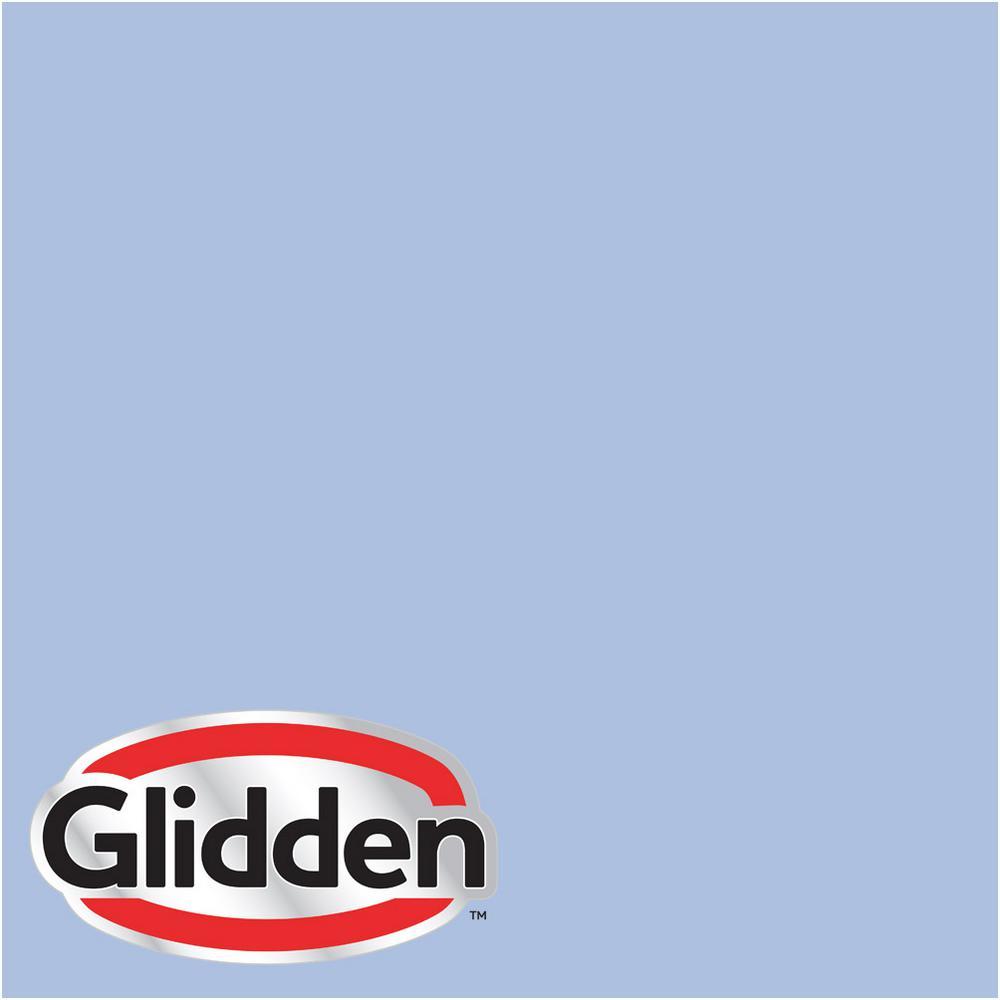 Glidden Premium 8 Oz Hdgv28u Roslyns Periwinkle Blue Satin