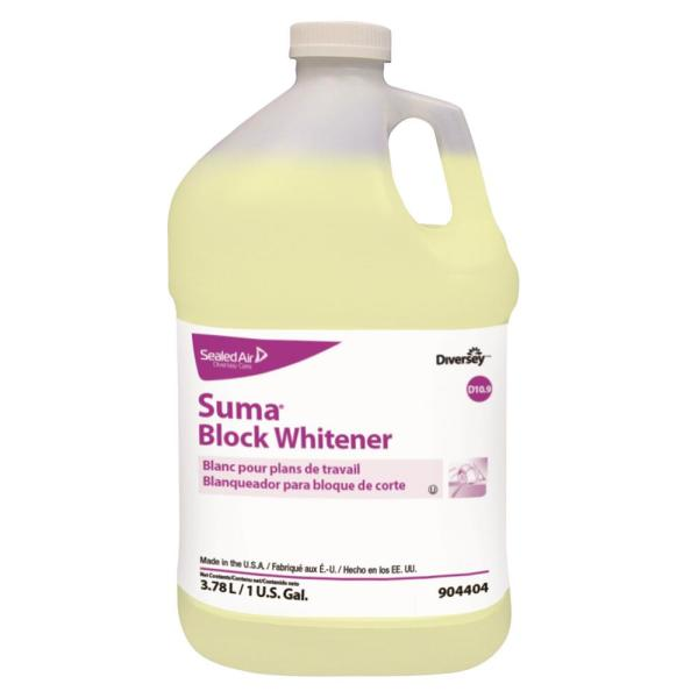 1 Gal. Suma Block Whitener All-Purpose Cleaner Bottle, 4/Carton
