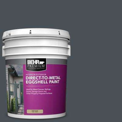 5 gal. #PPU25-22 Chimney Eggshell Direct to Metal Interior/Exterior Paint