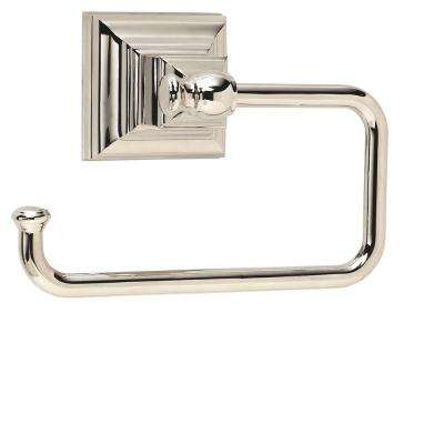 Markham Tissue Roll Holder in Polished Nickel