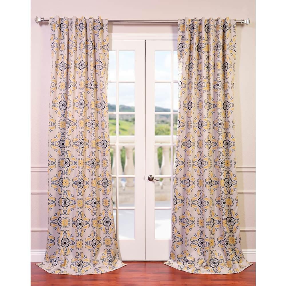 Exclusive Fabrics & Furnishings Semi-Opaque Soliel Yellow