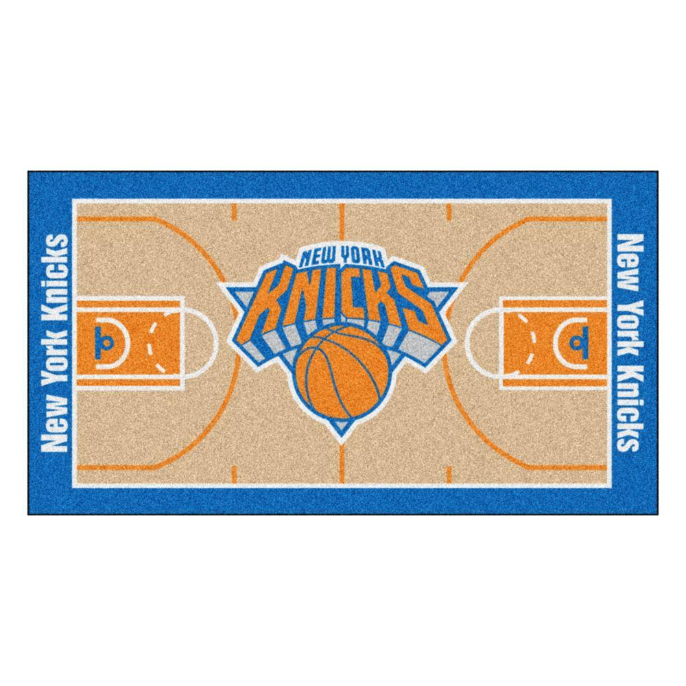 Fanmats New York Knicks 2 Ft X 3 Ft 8 In Nba Court Rug
