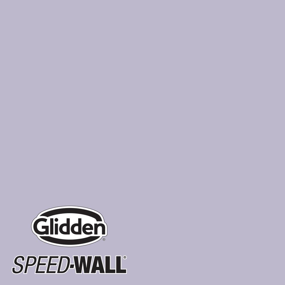 Speed-Wall 1 gal. Wild Lilac PPG1175-4 Semi-Gloss Interior Latex Paint