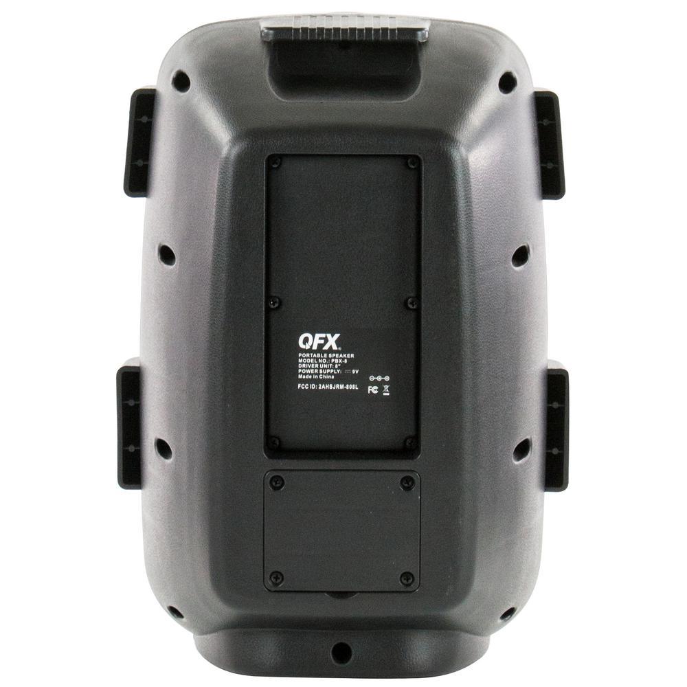 "QFX PBX-8 Rechargeable 8/"" Party Speaker"