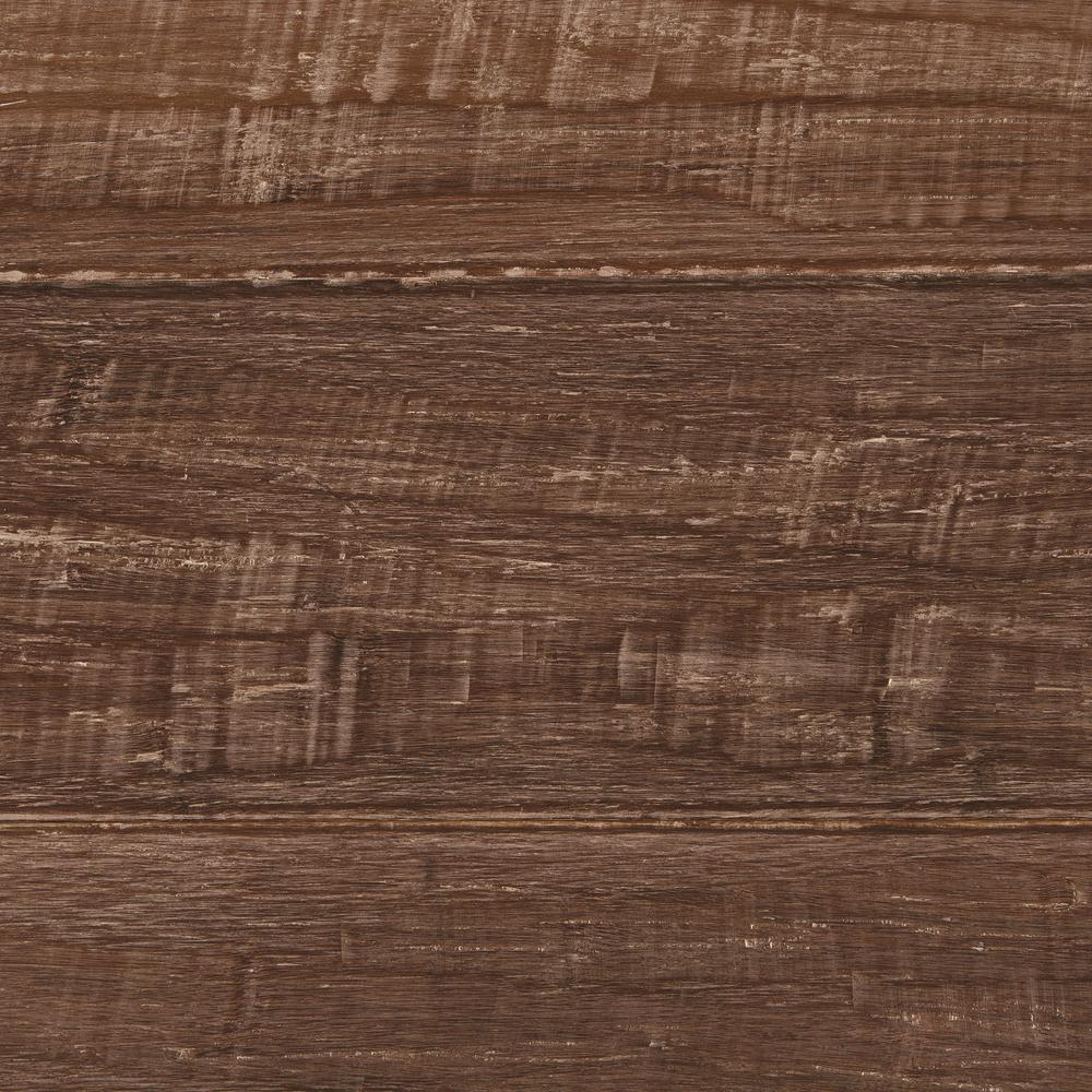 Take Home Sample - Hand Scraped Strand Woven Sandbrook Solid Bamboo