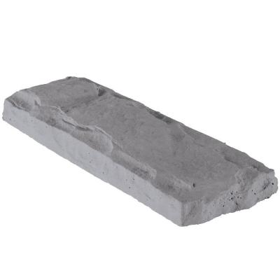 Header Stone Slate 22.5 in. x 8 in. Manufactured Stone Accessory