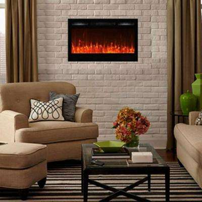 Edenbranch Wall Mounted Electric Fireplaces Electric
